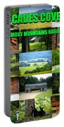 Cades Cove Collage Portable Battery Charger