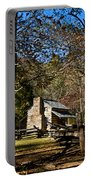 Cades Cove Early Settler Cabin  Portable Battery Charger