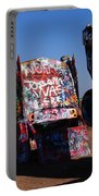 Cadillac Ranch On Route 66 Portable Battery Charger