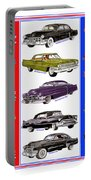 15 Cadillacs The Poster Portable Battery Charger