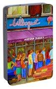 Cafe Bilboquet Ice Cream Delight Portable Battery Charger