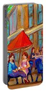 Cafe Casa Grecque Prince Arthur Portable Battery Charger