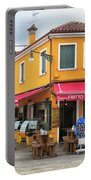 Cafe In Burano Portable Battery Charger