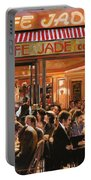 Cafe Jade Portable Battery Charger by Guido Borelli