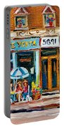 Cafe Yenta And Ma's Place Portable Battery Charger