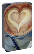 Caffe Vero's Heart Portable Battery Charger