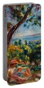 Cagnes Landscape With Woman And Child 1910 Portable Battery Charger