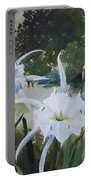 Cahaba Lilies Portable Battery Charger