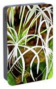 Cahaba Lily In Huntington Botanical Gardens In San Marino-california Portable Battery Charger