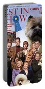 Cairn Terrier Art Canvas Print - Best In Show Movie Poster Portable Battery Charger