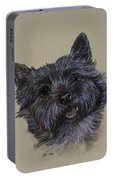 Cairn Terrier Portable Battery Charger