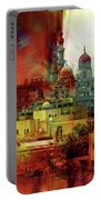 Cairo Egypt Art 01 Portable Battery Charger