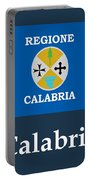 Calabria, Italy Flag And Name Portable Battery Charger
