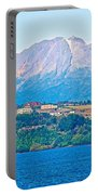 Calbuco Volcano Over Llanquihue Lake From Puerto Varas-chile Portable Battery Charger