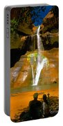 Calf Creek Falls Utah Portable Battery Charger