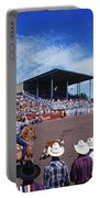 Calf Roping Event At Ellensburg Rodeo Portable Battery Charger