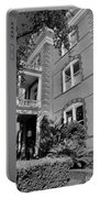Calhoun Mansion Black And White Portable Battery Charger