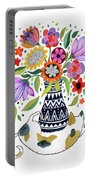Calico Bouquet Portable Battery Charger