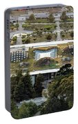 California Academy Of Sciences Living Roof In San Francisco Portable Battery Charger