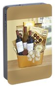 California Golden Bubbles Valentine Wine Gift  Portable Battery Charger
