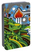 California Highway 1 Portable Battery Charger by Rojax Art