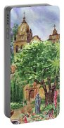 California Mission Carmel Basilica Portable Battery Charger