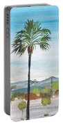 California Painting Portable Battery Charger