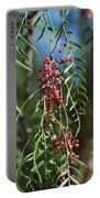 California Pepper Tree Leaves Berries I Portable Battery Charger