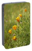 California Poppy Portable Battery Charger