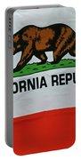 California Republic Flag Portable Battery Charger
