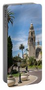 California Tower In Balboa Park Portable Battery Charger