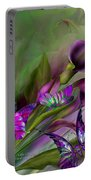Calla Lilies Portable Battery Charger by Carol Cavalaris