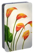 Calla Lilies Portable Battery Charger