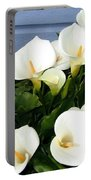 Calla Lilies- Oregon Portable Battery Charger