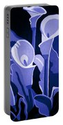 Calla Lilies Royal Portable Battery Charger