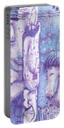 Calling Upon Spirit Animals Portable Battery Charger