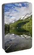 Calm Reflection On String Lake Portable Battery Charger