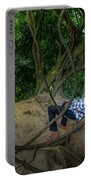 Cambodian Jungle Swing Portable Battery Charger