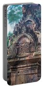 Cambodian Temple Details Banteay Srey Portable Battery Charger