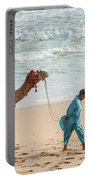 Camel Ride On Beach Portable Battery Charger
