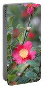Camellia Sasanqua Yuletide Portable Battery Charger
