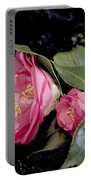 Camellia Still Life Portable Battery Charger