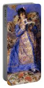 Camille Monet Reading 1872 Portable Battery Charger