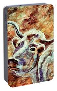 Camouflage Cow Art Portable Battery Charger