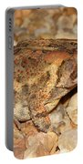 Camouflage Toad Portable Battery Charger