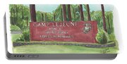Camp Lejeune Welcome Portable Battery Charger