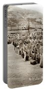 Camp San Luis Obispo Army Base 40th Division Photo 143rd Field Artillery 1941 Portable Battery Charger