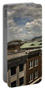 Campbell Avenue Rooftops Roanoke Virginia Portable Battery Charger