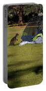 Camping With Swamp Wallaby Portable Battery Charger