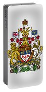 Canada Coat Of Arms Portable Battery Charger